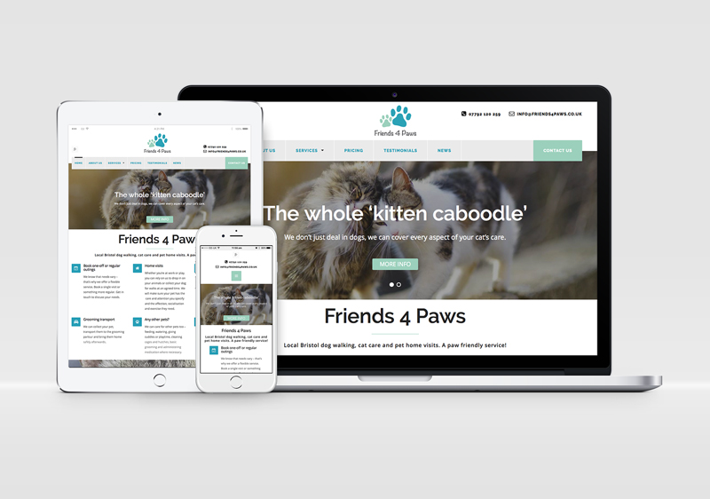 Friends 4 Paws get online